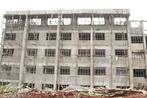 TIGONI HOSPITAL UNDER CONSTRUCTION