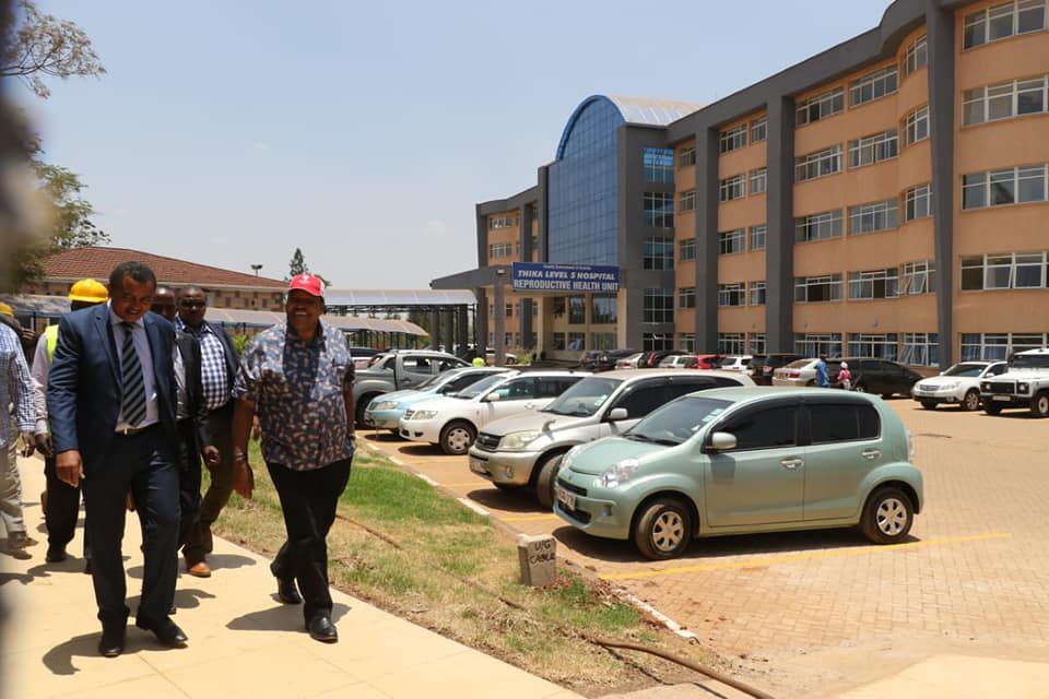 Governor Inspects Thika Level 5 Hospital