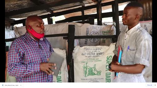 Dairy Record Keeping in Kiambu County