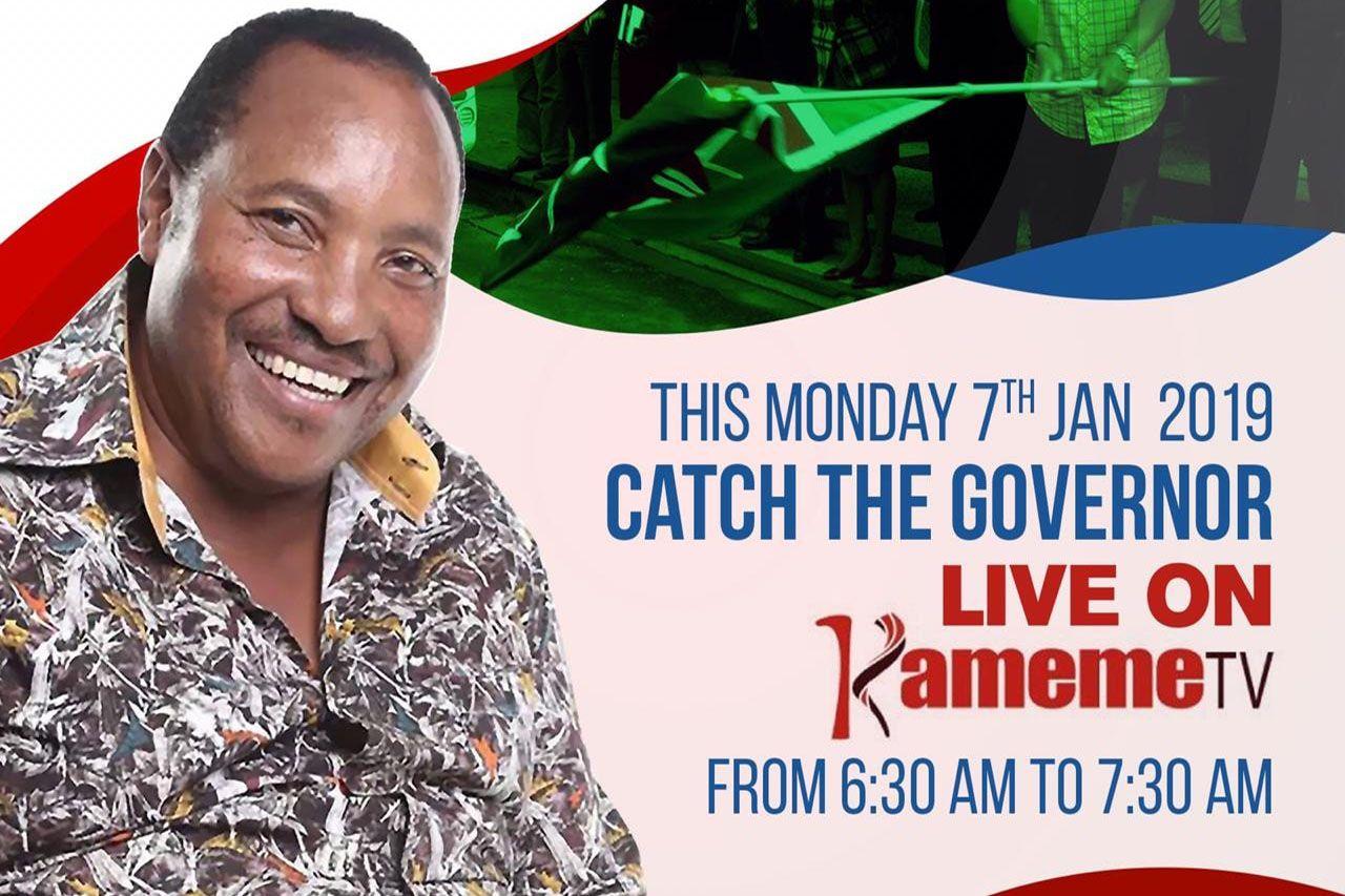 Governor Talks #DevelopmentInCentralKenya on Kameme Tv